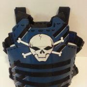 Blue Skull Armor