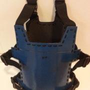 Blue Skull Backview