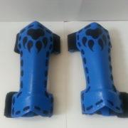 Blue Gauntlets