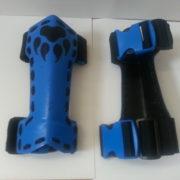 Blue Gauntlets View 2