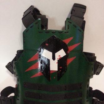 Green Spartan Armor