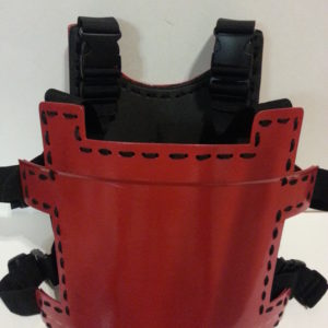 Red Ghost Armor | Adult Large