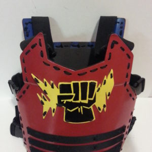Red Thunder Armor | Adult Medium