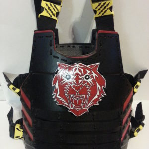 Red Tiger Armor | Adult Large