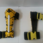 Yellow Gauntlets View 2